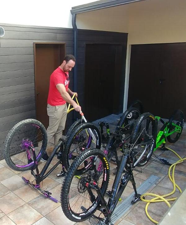 Lavado Bicicletas