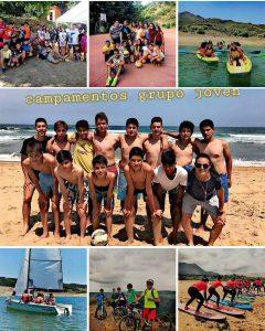 Campamento de verano Grupo Joven