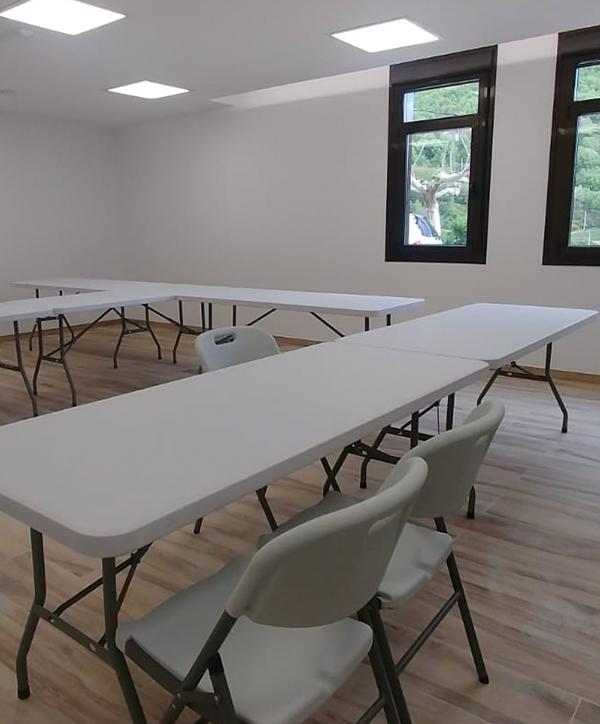 Aula polivalente La Antigua Escuela del Bierzo