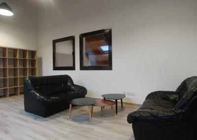 Sala de estar Alojamiento con encanto La Antigua Escuela del Bierzo