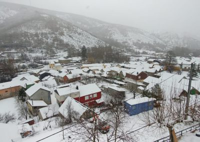 Entorno de Pobladura de las Regueras - Invierno en El Bierzo