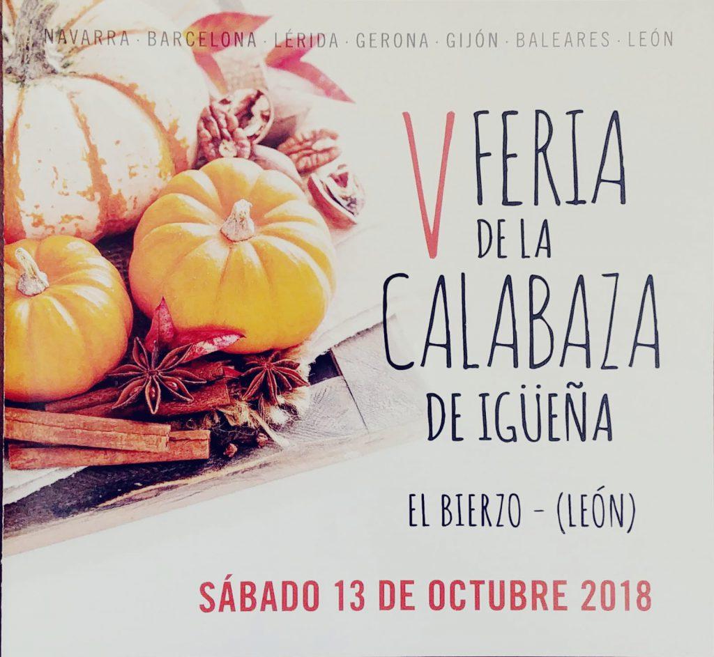 V Feria de la Calabaza en Igüeña