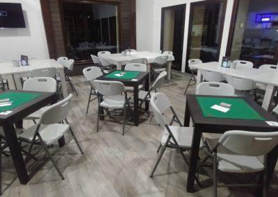 Mesas Torneo de Tute La Antigua Escuela de El Bierzo