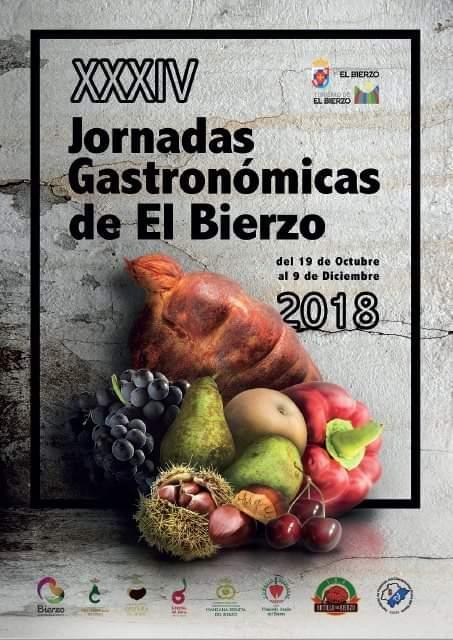 XXXIV JORNADAS GASTRONOMICAS DE EL BIERZO 2018