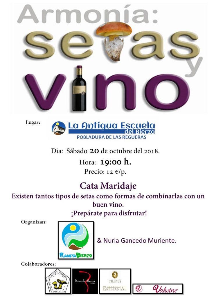 Cata Maridaje ARMONÍA: Setas y Vino en La Antigua Escuela de El Bierzo