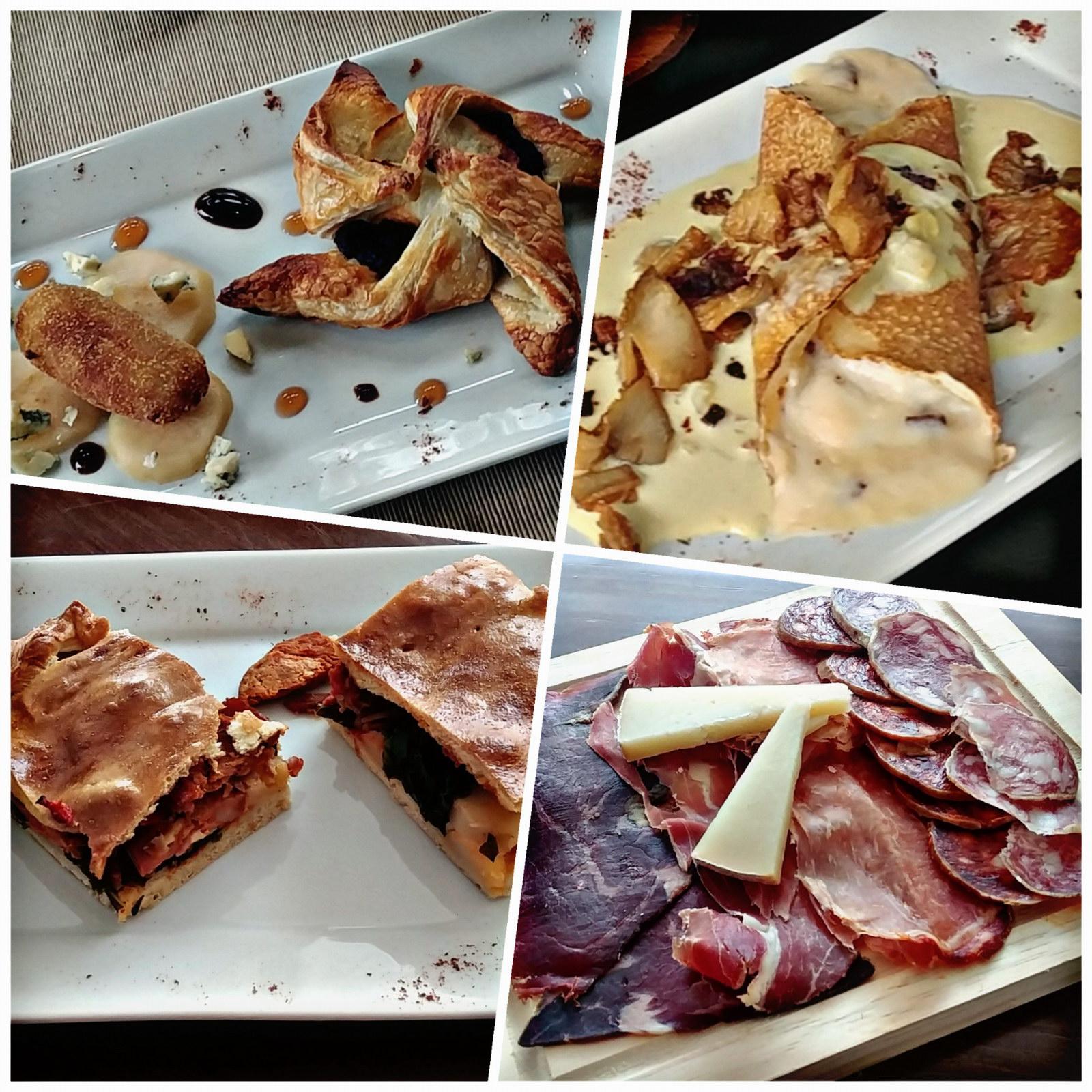 Jornadas Gastronómicas del Bierzo 2019 Restaurante Menú Degustación La Antigua Escuela entrantes