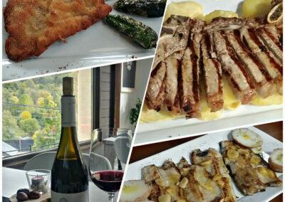 Jornadas Gastronómicas del Bierzo 2019 Restaurante Menú Degustación La Antigua Escuela platos principales