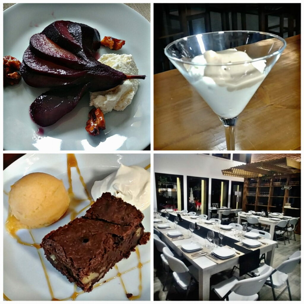Jornadas Gastronómicas del Bierzo 2019 Restaurante Menú Degustación La Antigua Escuela postres