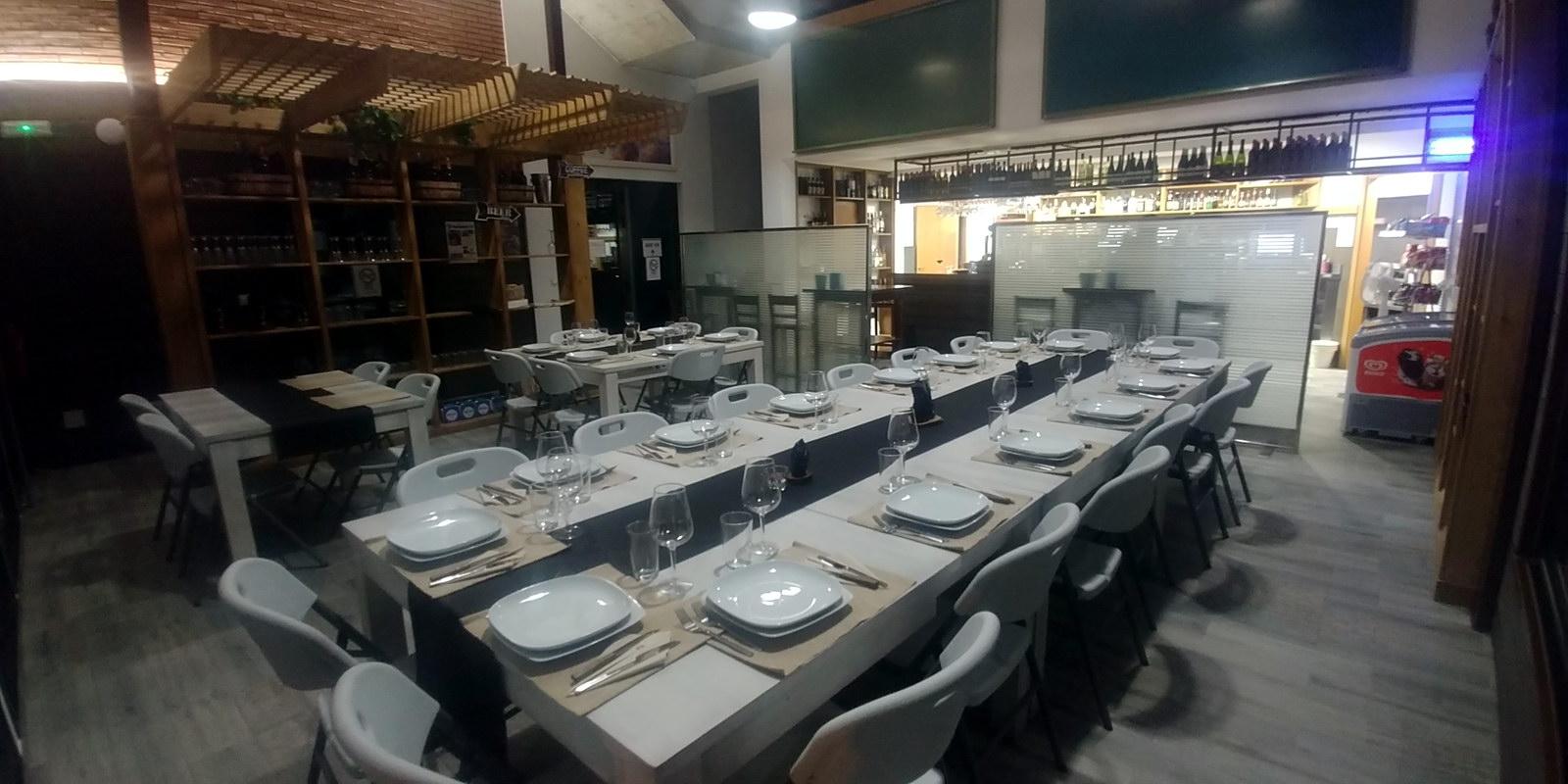 Jornadas Gastronómicas del Bierzo Restaurante La Antigua Escuela comedor