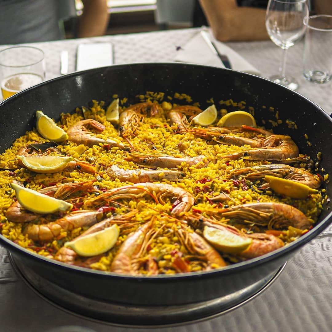Paella - Restaurante Antigua Escuela del Bierzo