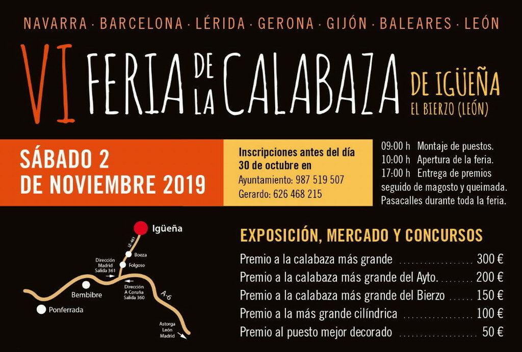 VI Feria de la Calabaza en Igüeña 2019   El Bierzo León