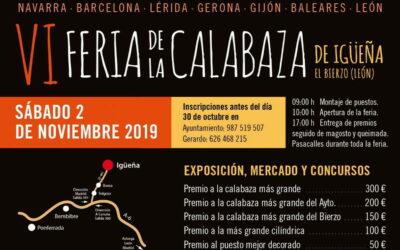 VI FERIA DE LA CALABAZA de Igüeña 2019