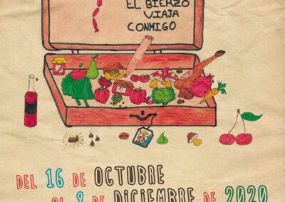 Jornadas Gastronómicas de El Bierzo 2020 Cartel Oficial