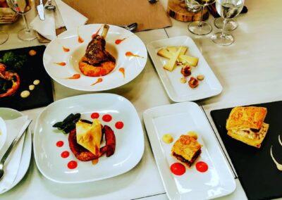 Jornadas Gastronómicas Bierzo 2020 menú degustación | Restaurante La Antigua Escuela