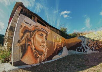 Ruta de grafittis en El Bierzo León Pobladura de las Regueras 2