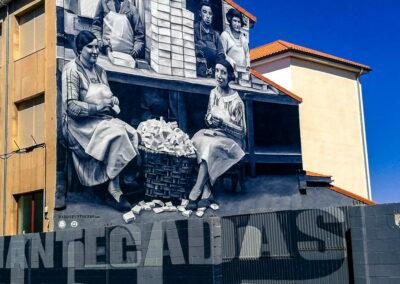 Grafiti en Astorga - Ruta de los Grafitis en el Bierzo