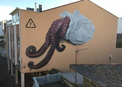 Grafiti en Cacabelos - Ruta de los Grafitis en el Bierzo