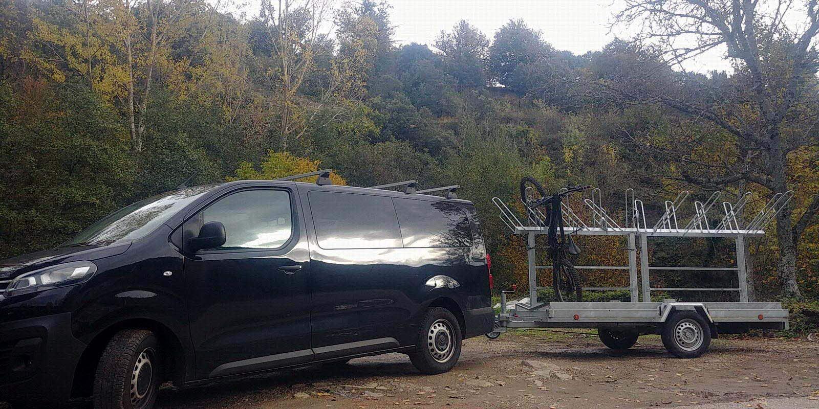 Alquiler de bicicletas eléctricas ebike mtb El Bierzo | Remonte y traslados con furgoneta