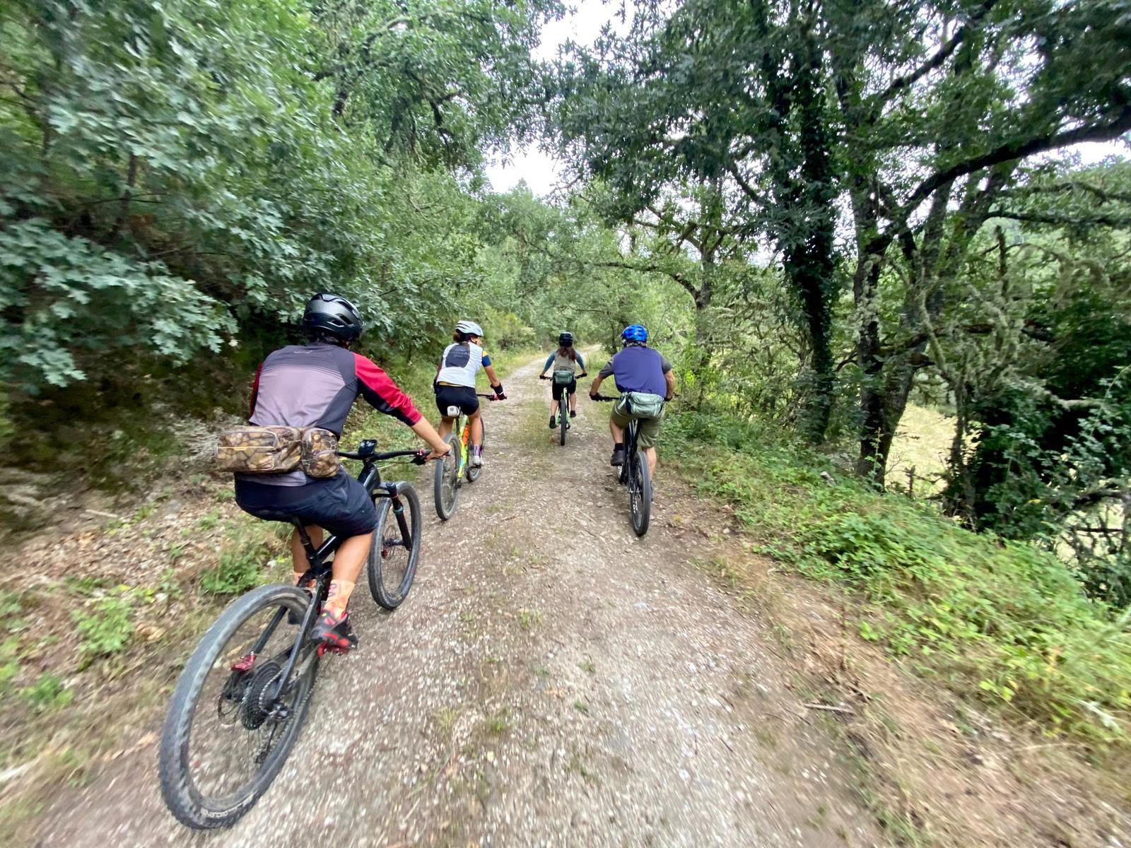 Alquiler de bicicletas eléctricas ebike mountain bike | Rutas de los Grafitis de El Bierzo Alto