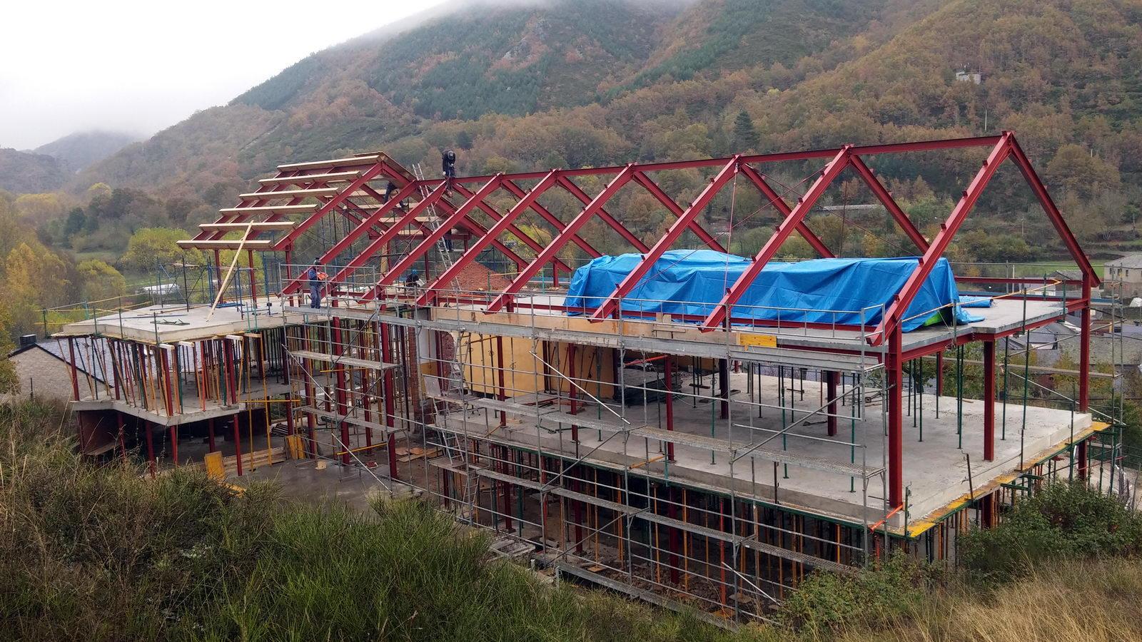 Antigua Escuela del Bierzo | Edificio nuevo cómo se rehabilitó | vista sur 2