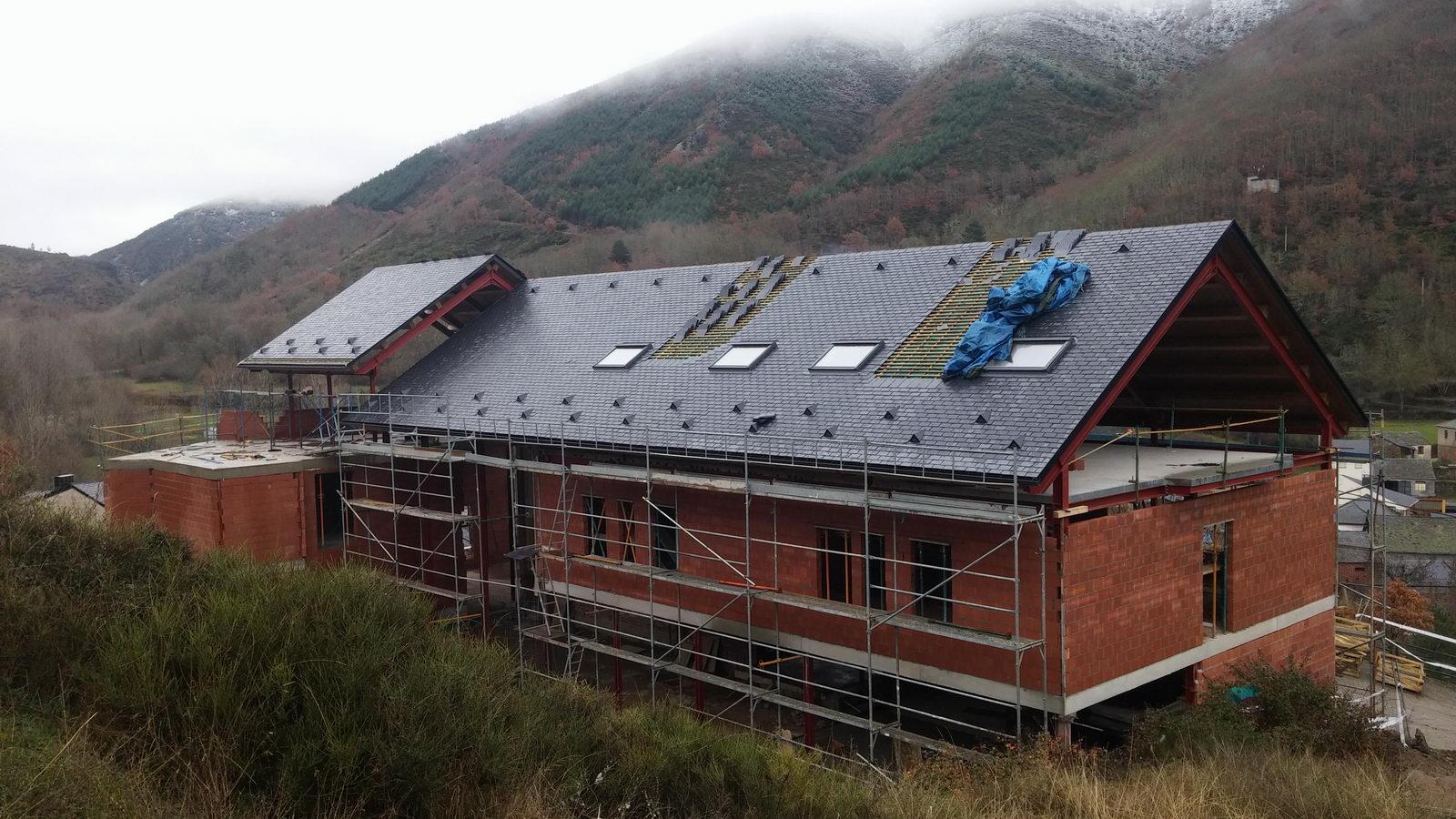 Antigua Escuela del Bierzo | Edificio nuevo cómo se rehabilitó | vista sur 5