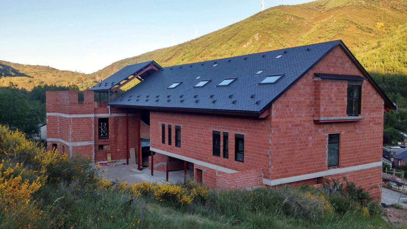 Antigua Escuela del Bierzo | Edificio nuevo cómo se rehabilitó | vista sur 7