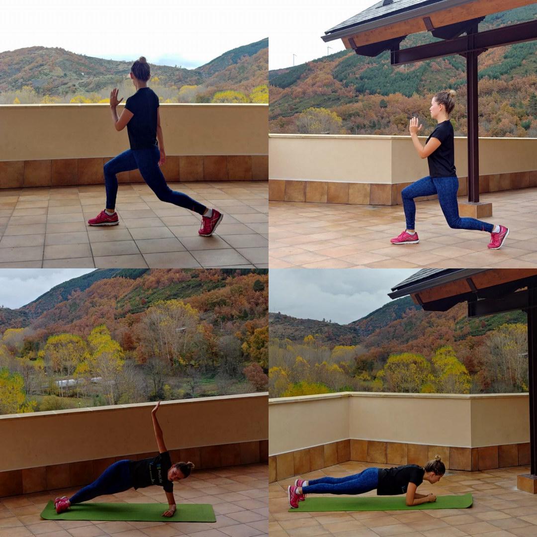 Fitness Gimnasia en la Azotea de la Antigua Escuela del Bierzo