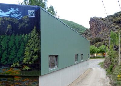 Grafiti de la Montaña en Folgoso de la Ribera | Ruta de los Grafitis en El Bierzo Alto | León