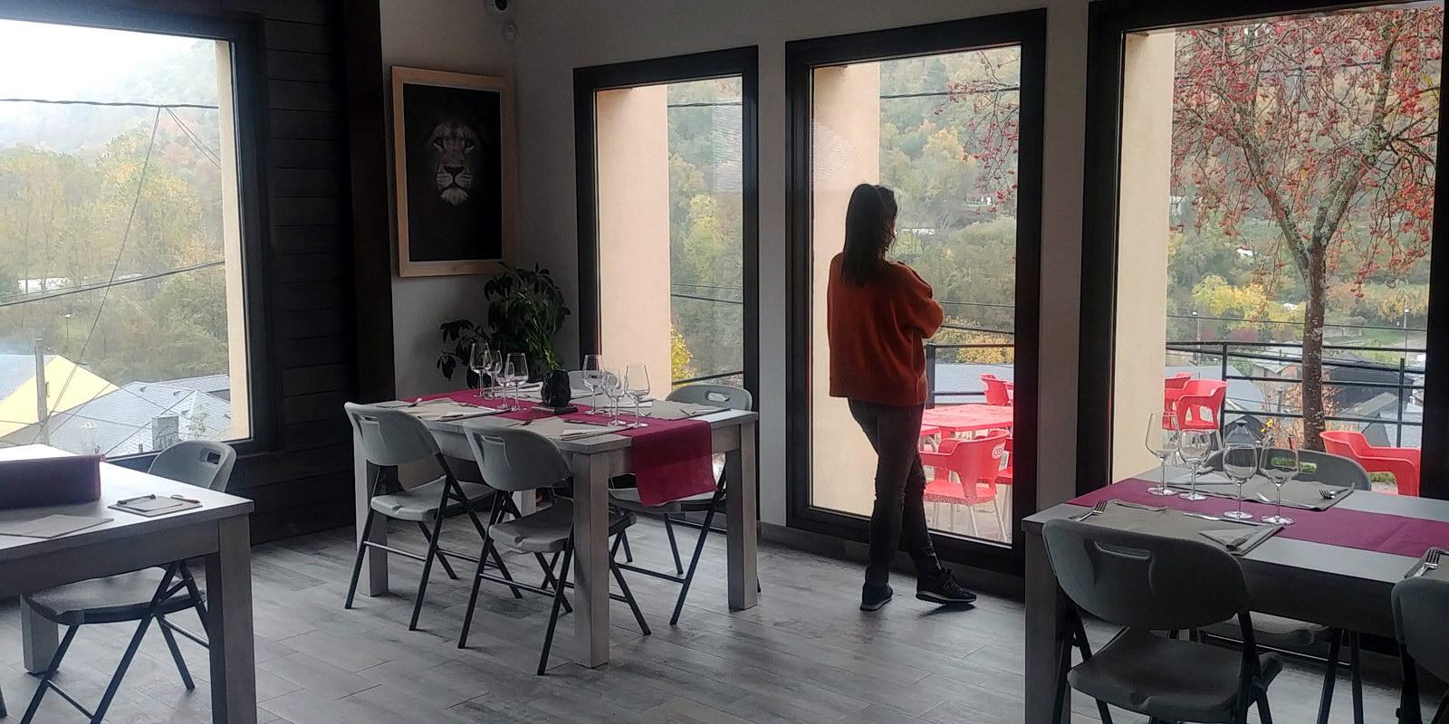 Restaurante vistas preciosas | Antigua Escuela del Bierzo