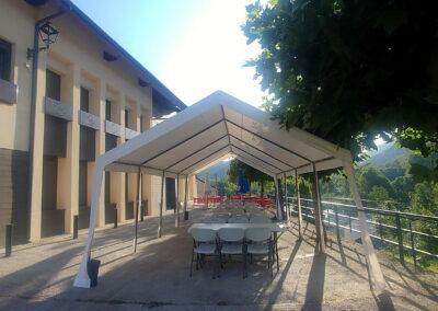 Terraza de verano   Antigua Escuela del Bierzo