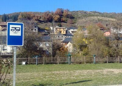 Area de Caravanas Parking en Pobladura de las Regueras
