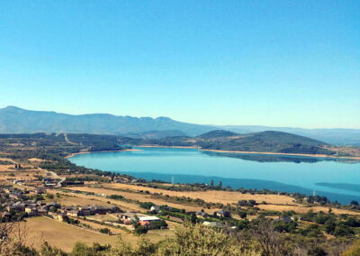 Embalse de Bárcena | paisajes de El Bierzo