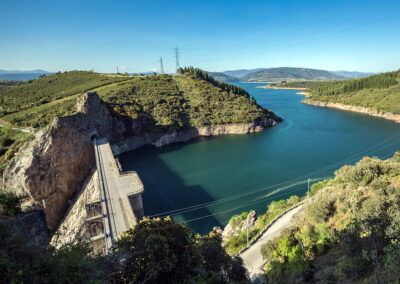 Embalse de Bárcena | Mirador de la presa | paisajes de El Bierzo
