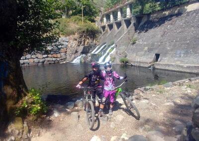 Folgoso de la Ribera | presa zona de baño en El Bierzo