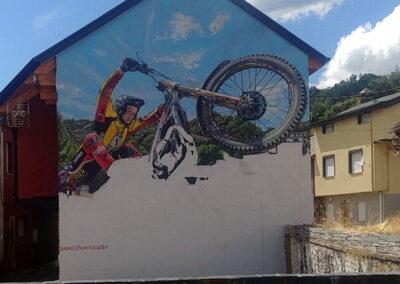 Grafiti Moto | Cómo se hizo | Pobladura de las Regueras León El Bierzo