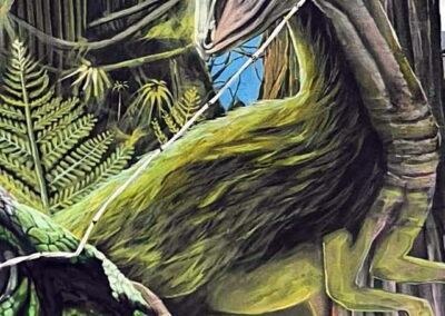 Ruta de los grafitis el El Bierzo Alto | Dinosaurios en Tremor de Arriba