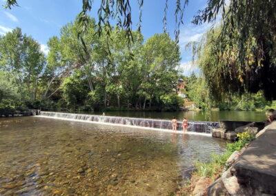 Toral de los Vados | Playa fluvial en El Bierzo