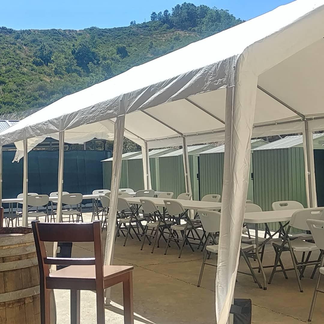 Terraza de verano | Antigua Escuela del Bierzo | Comedor de verano al aire libre
